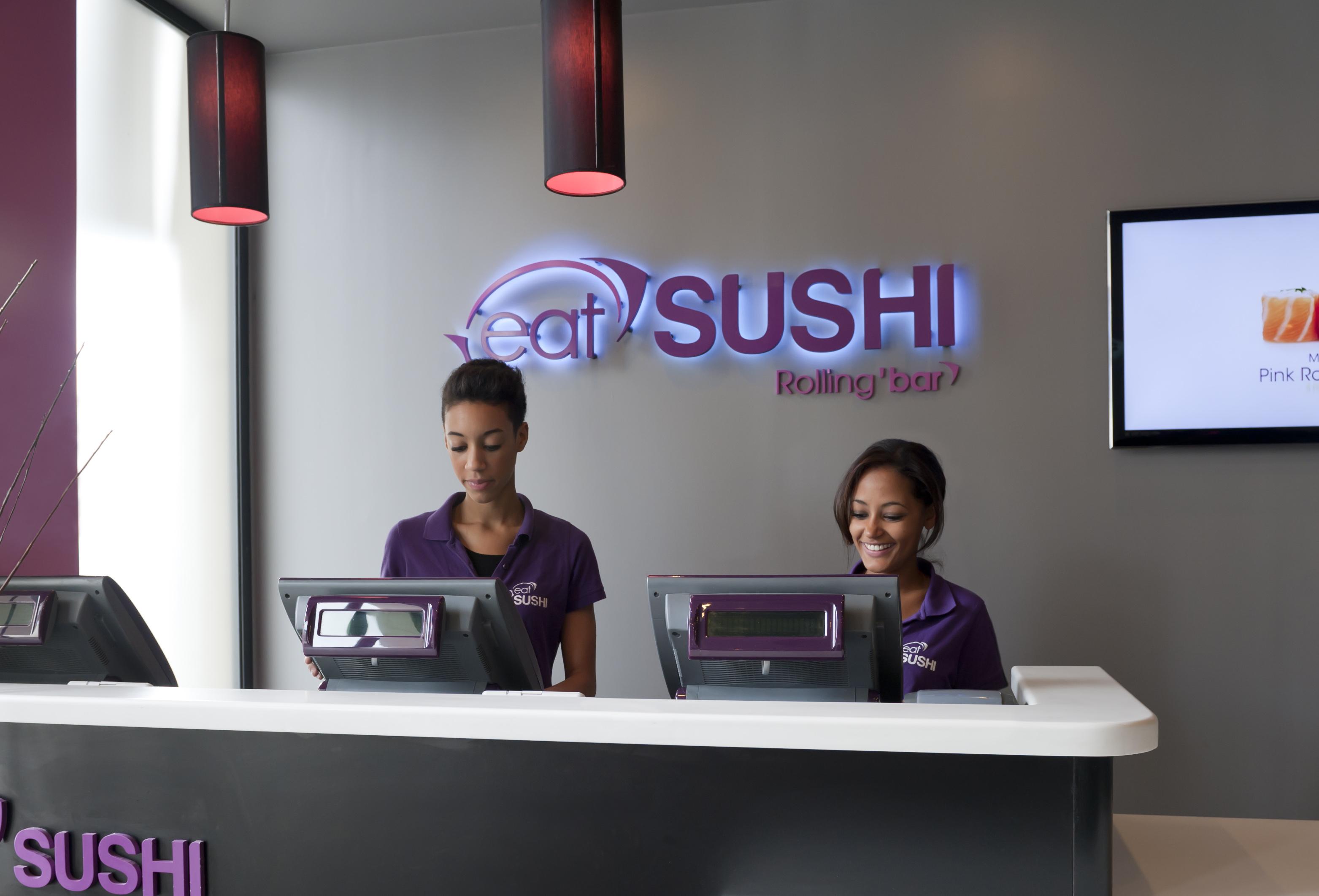 Faktura.Cash Odyssee Systeme im Schnellrestaurant eatSushi®