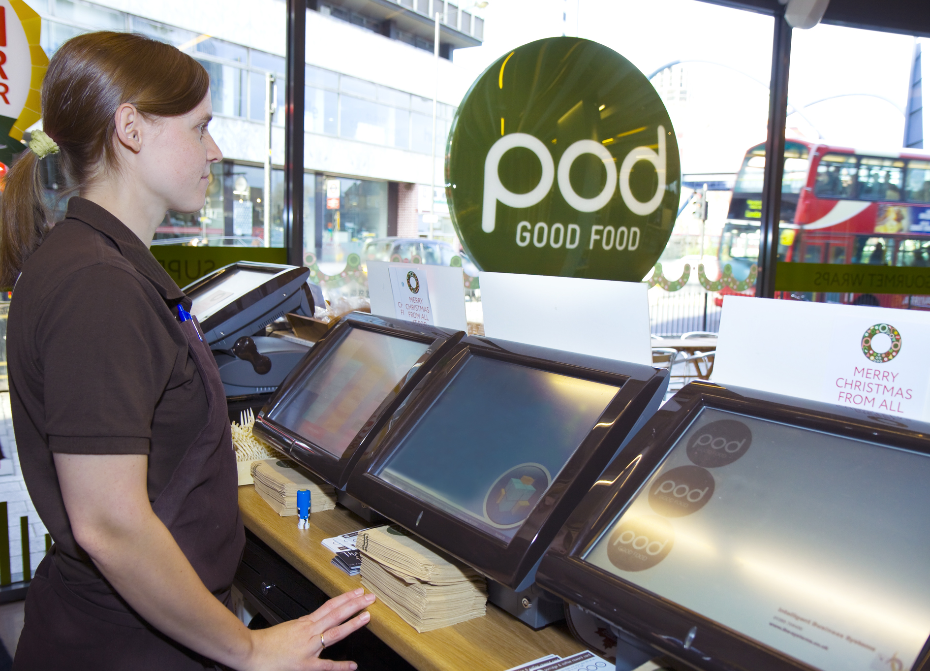 Aures Odyssee® Systeme bei pod GOOD FOOD® in England