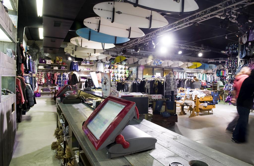 Faktura.Cash Odyssee Systeme im Bereich Surf and Sportswear
