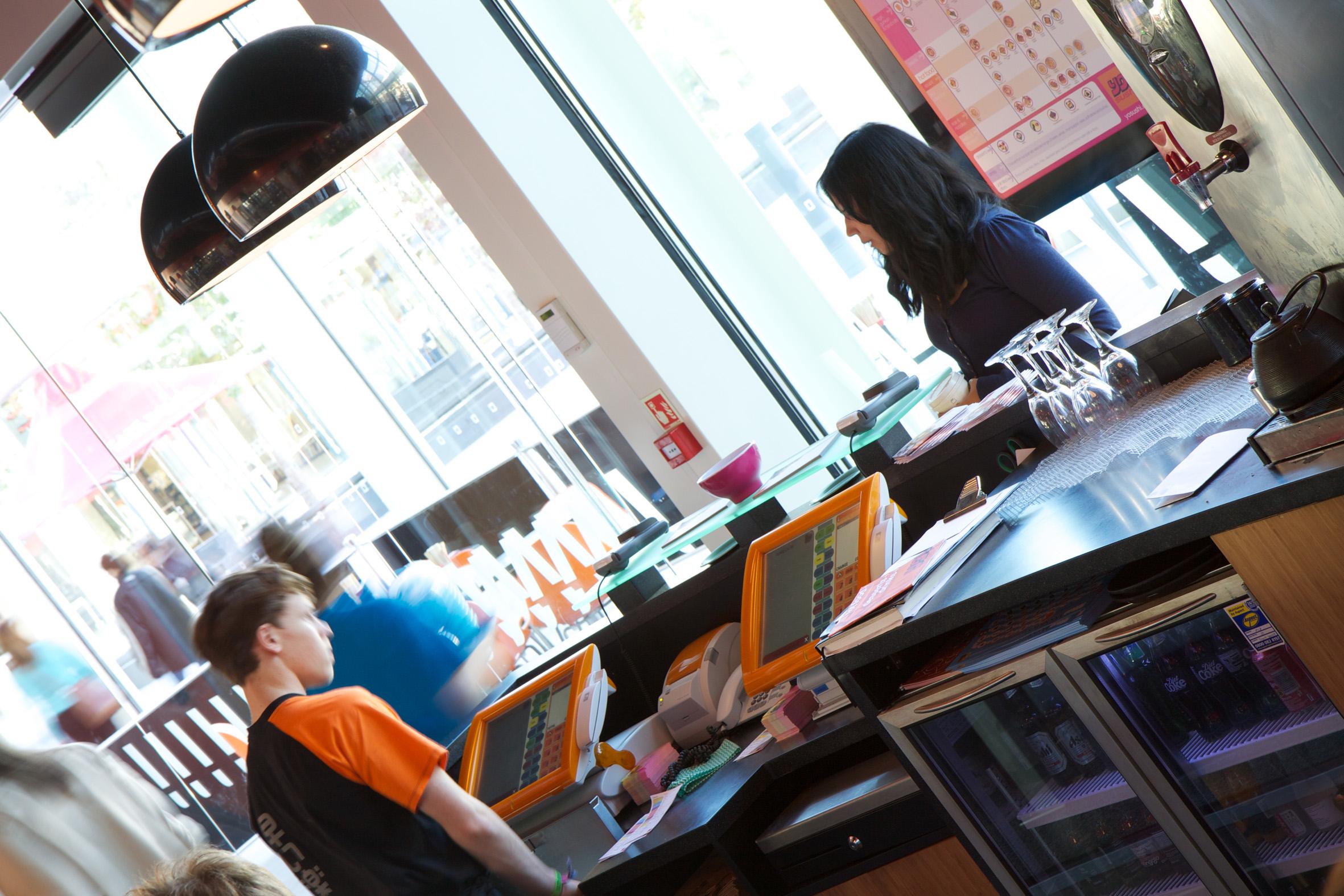 Odyssee Systeme im Schnellrestaurant